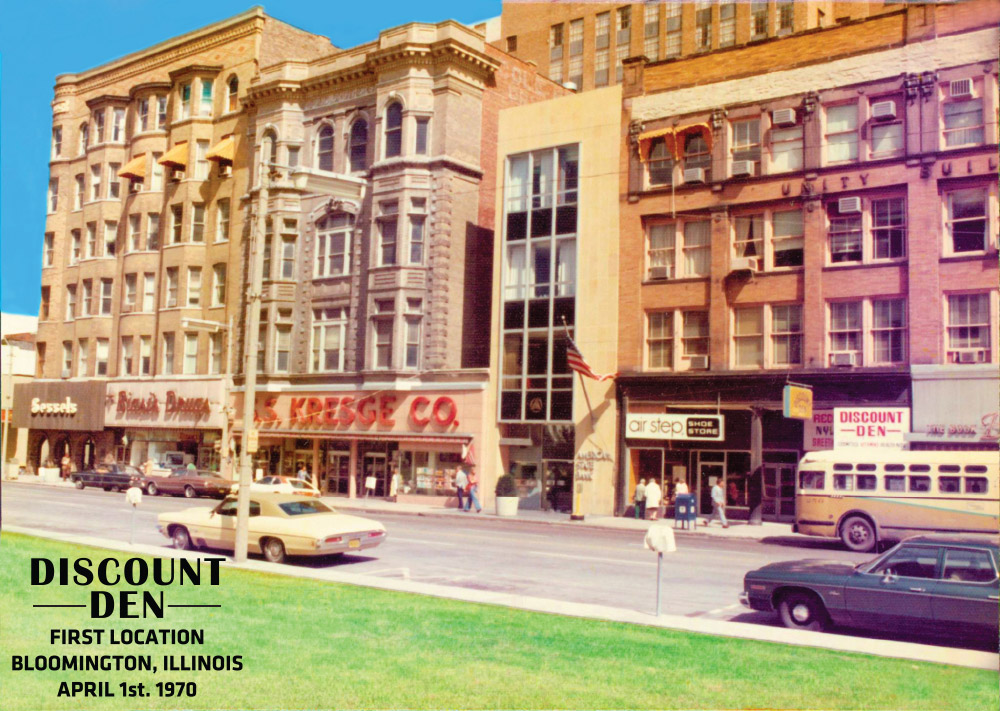 Discount Den First Location - 1970